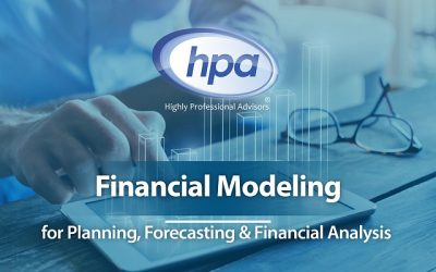 Financial Modelling for Planning, Forecasting & Financial Analysis