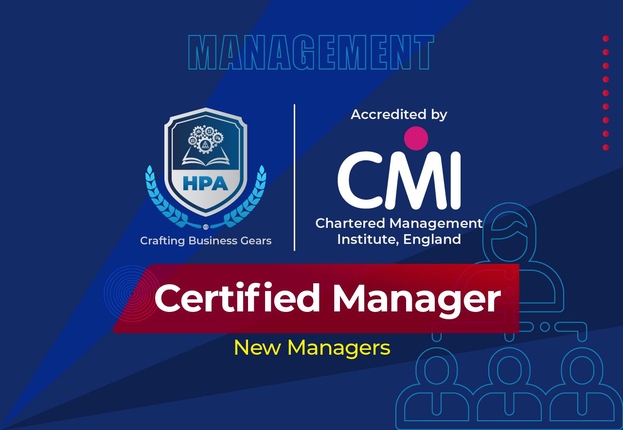 Certified Manager accredited by CMI