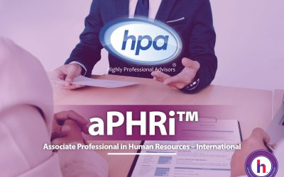 aPHRi™ | Associate Professional in Human Resources – International